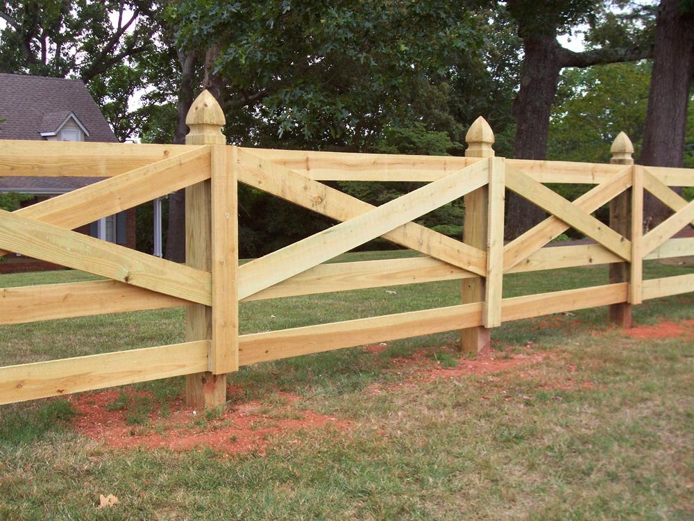 Sawdon Fence Wood Fence Company Serving Mid Michigan